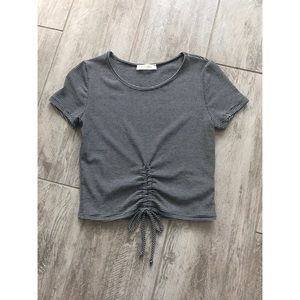 Tops - Unknown | Striped Crop Top